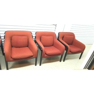 1970s Vintage Bill Stephens for Knoll Bentwood Lounge Chair-Set Of 4 Preview