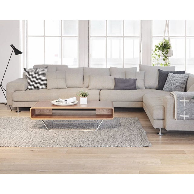 Metal Cepella Left Seated Sectional by Scandinavian Designs For Sale - Image 7 of 11