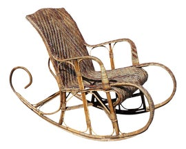 Image of Art Deco Rocking Chairs
