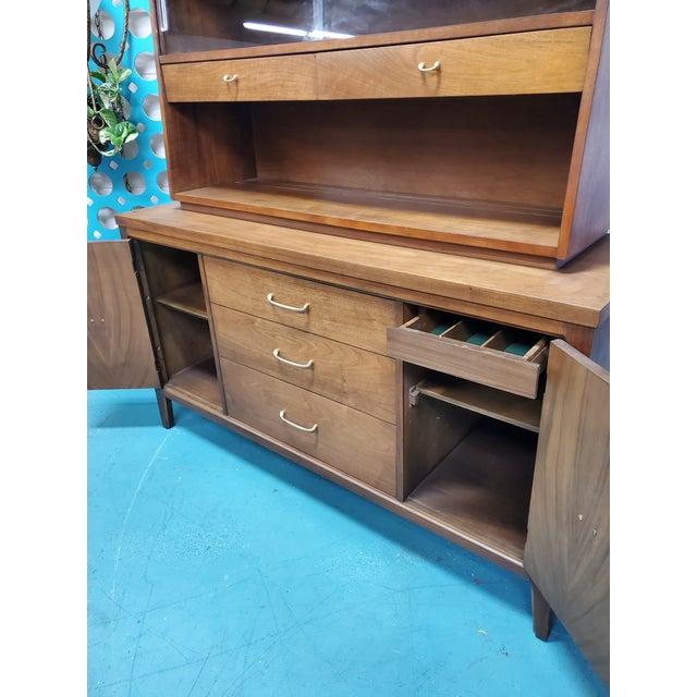 1960s Mid Century Scandinavian Display Cabinet For Sale - Image 4 of 5