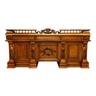 Contemporary Harden Furniture Executive Office Desk For Sale