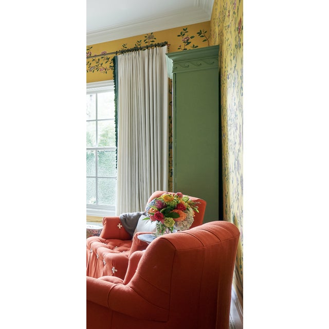 2020s Traditional Green Painted Bookcase For Sale - Image 5 of 8