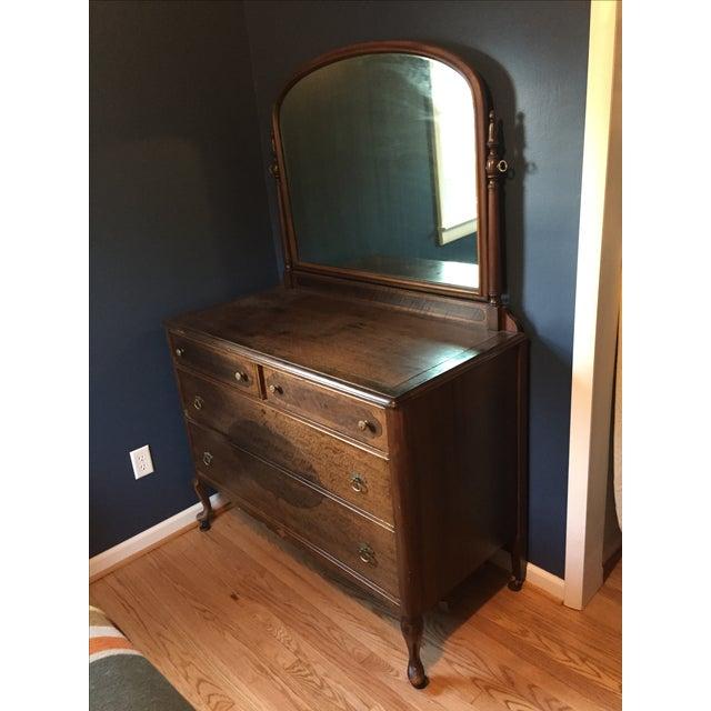 Vintage Dresser with Mirror - Image 3 of 4