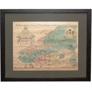 Early Map of New York City For Sale