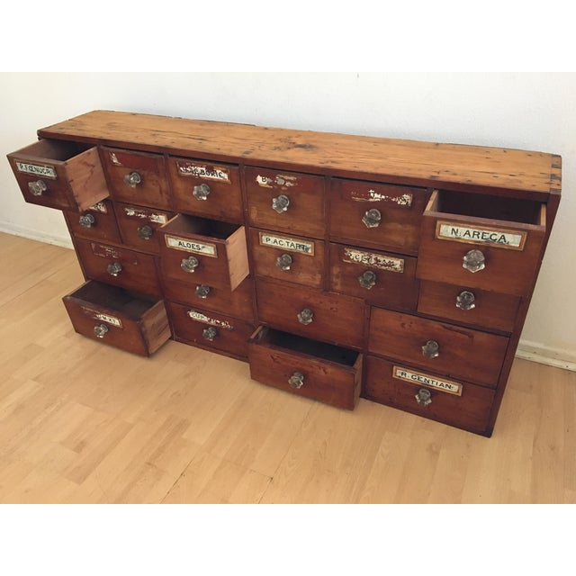 1800s English Apothecary Cabinet - Image 3 of 11