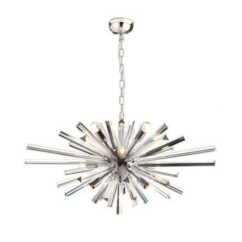 Modern Murano Glass Sputnik Chandelier For Sale - Image 3 of 8