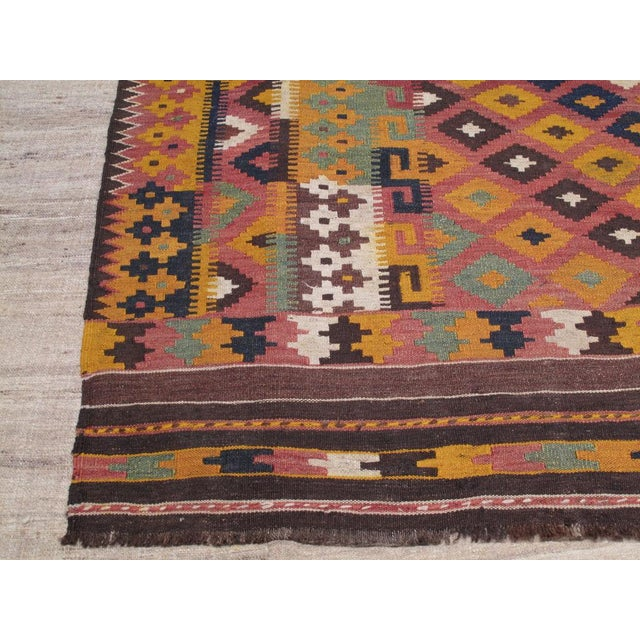 Uzbek Kilim For Sale - Image 4 of 5