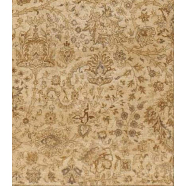 """Islamic Handmade Indian Master Piece Rug - 8'8""""x 11'10"""" For Sale - Image 3 of 7"""