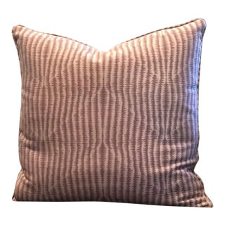 Calvin Klein Fabric Decorative Pillow For Sale