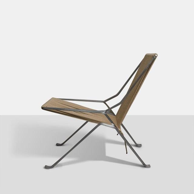 Fritz Hansen Poul Kjaerholm PK-25 Lounge Chair For Sale - Image 4 of 6
