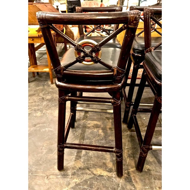 McGuire Bar Stools For Sale - Image 9 of 10