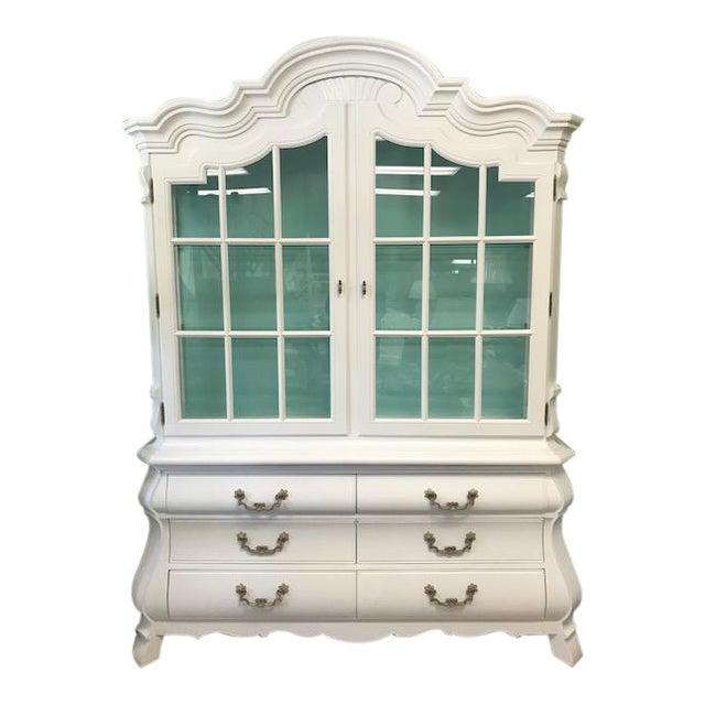 Vintage China Cabinet For Sale