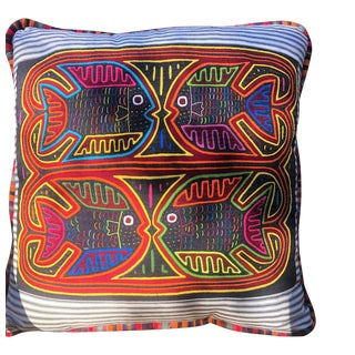 Mola Pillow For Sale