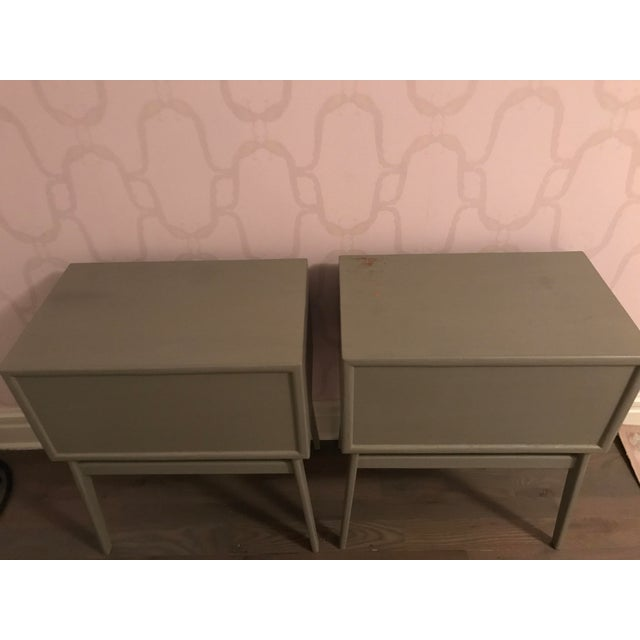 Pair of Mid-Century Teak Chelsea Textiles Bedside Tables For Sale - Image 5 of 8