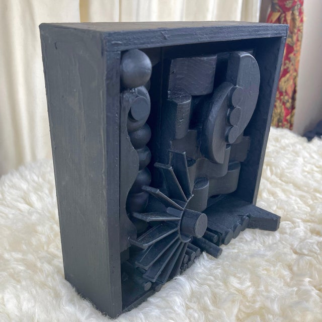 Louise Nevelson Contemporary Assemblage Sculpture After Louise Nevelson For Sale - Image 4 of 9
