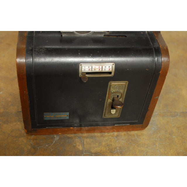 Nippon Time Recorder Punch Clock For Sale - Image 5 of 8