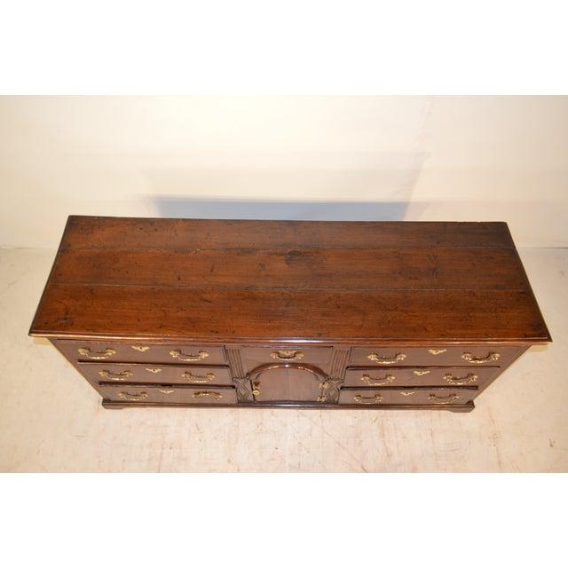 18th Century English Oak Dresser Base For Sale In Greensboro - Image 6 of 10