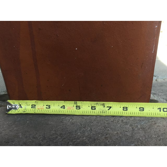 Contemporary Planter Cement Outdoor Planter For Sale - Image 10 of 11