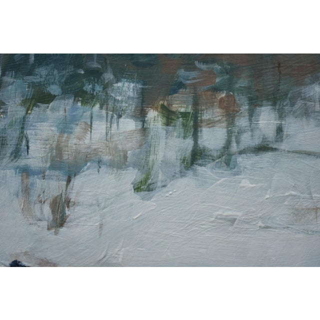"""2010s Stephen Remcik """"Pool at Destruction Brook"""" Small Contemporary Painting For Sale - Image 5 of 8"""