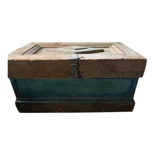 Antique, Primitive Chest, Trunk For Sale