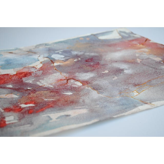 Vintage Watercolor Abstract - Image 5 of 5