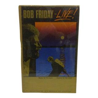 1980 Vintage Bob Friday Concert Poster For Sale