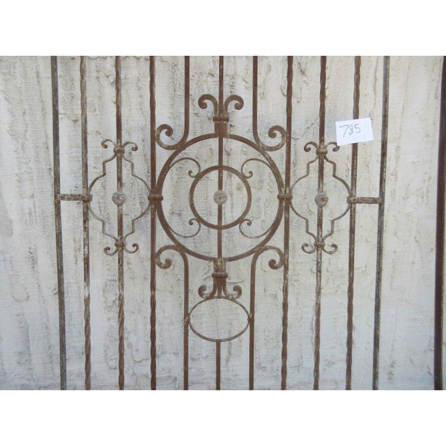 Antique Victorian Iron Gate or Garden Fence - Image 3 of 7