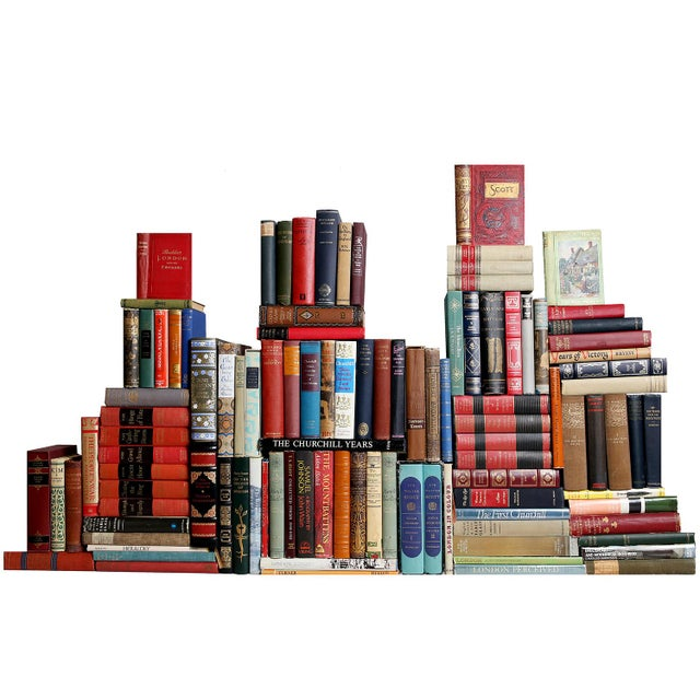 Curated British Library Books - Set of 100 For Sale