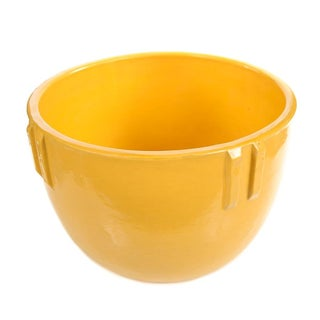 Bauer Original 1915 Indian Pot, Glazed Yellow For Sale