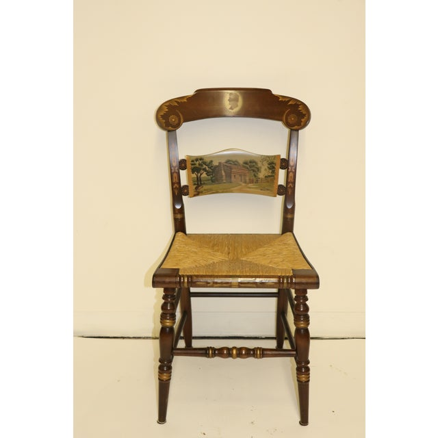 Rare Limited Edition Hitchcock Chair. Limited to 500, this is # 199/500. It is magnificent. The chair measures Height...