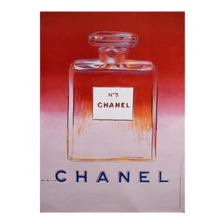 Andy Warhol Chanel No 5 Poster For Sale