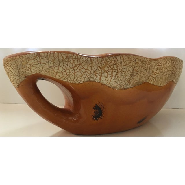 Studio Pottery Glazed Centerpiece Bowl For Sale - Image 4 of 7