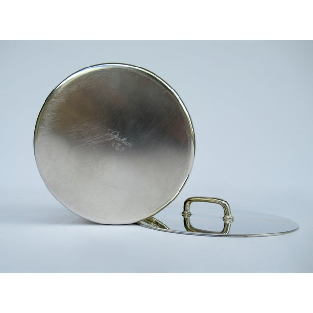 Gorham Silver Plate Bushell-Shaped Lidded Tea Caddy Container For Sale - Image 11 of 13