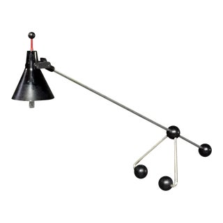 Italian Ball-Base Adjustable Desk Lamp, 1980s For Sale