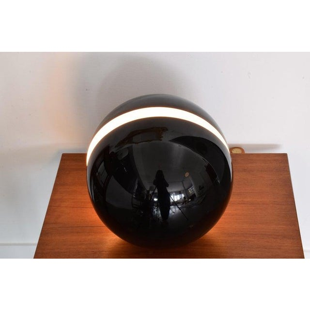 20th Century Globe Table Lamp by Andrea Modica for Lumess, 1980's For Sale - Image 4 of 9