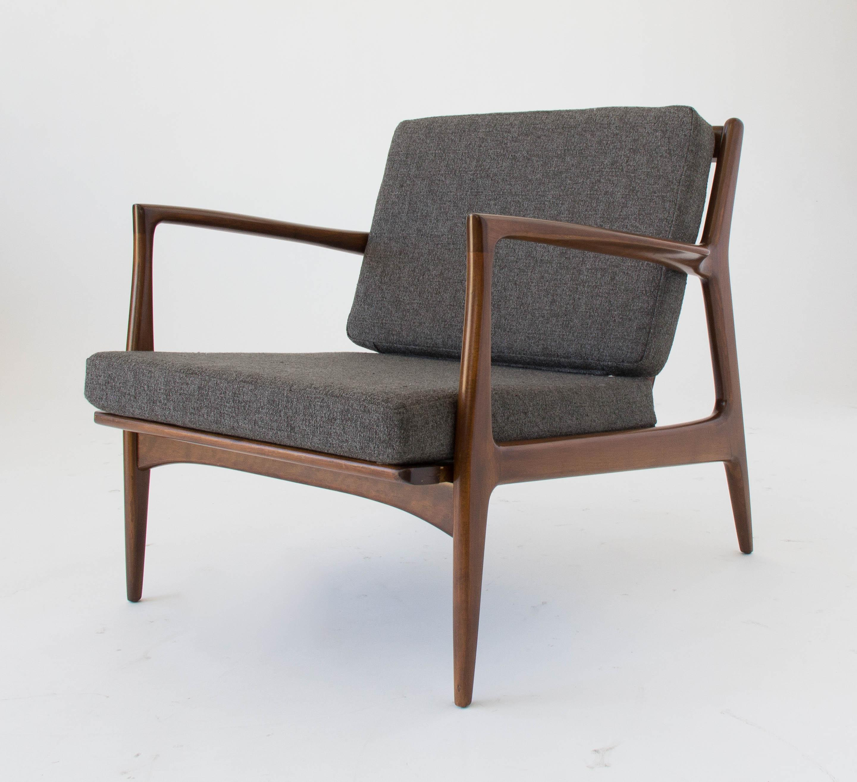 Lounge Chair By Ib Kofod Larsen For Selig   Image 2 Of 11