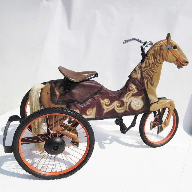 Adult Size, Carnival Horse Racing Bike For Sale - Image 9 of 9