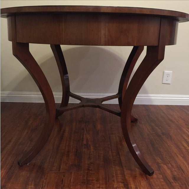 Vintage Round Center Table, Brustlin Workshop - Image 3 of 10