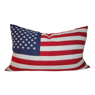 Amreican Flag Pillow For Sale