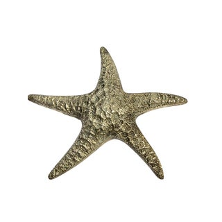 Large Brass Starfish For Sale