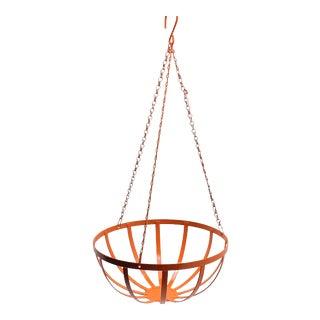 Orange Hanging Fruit Veggie Basket/ Plant Holder For Sale