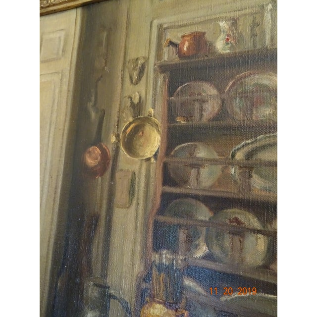 Interior Oil on Canvas For Sale - Image 12 of 12