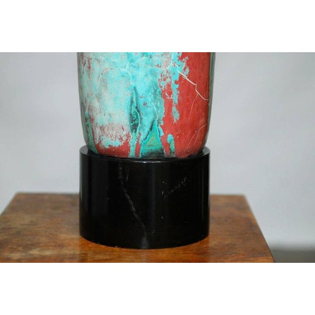 Danish Modern Mobach Ceramic Table Lamp - Image 3 of 8