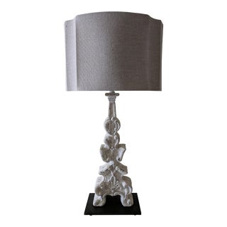 Aidan Gray White Table Lamp For Sale