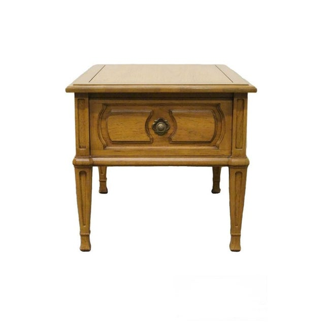 20th Century French Country Thomasville Furniture Cote Dor End Table