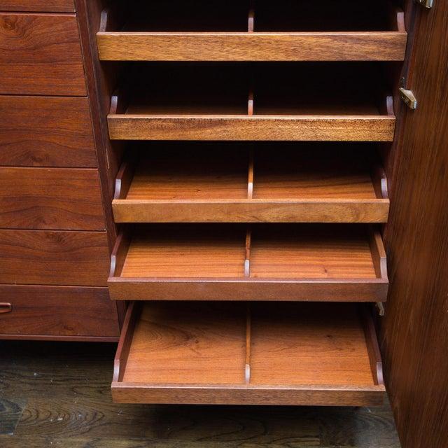 Arne Wahl Iversen for Vinde Mobelfabrik Danish Modern Teak Dresser For Sale In New York - Image 6 of 10
