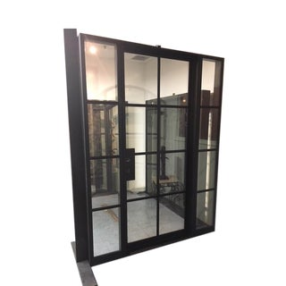 Glass Door & Wall With Jamb For Sale