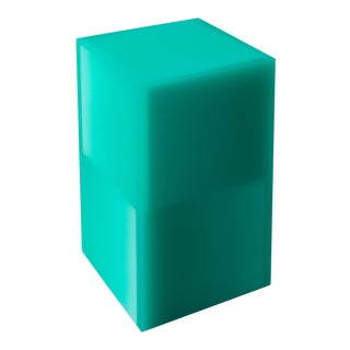 """Shifted Cube Box"", Resin, Wood, 2018, Facture Studio For Sale"