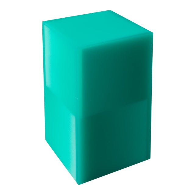 """""""Shifted Cube Box"""", Resin, Wood, 2018, Facture Studio For Sale"""