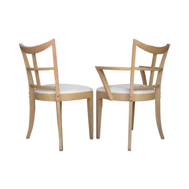 Paul Frankl Dining Chairs - Set of 10 - Image 2 of 8
